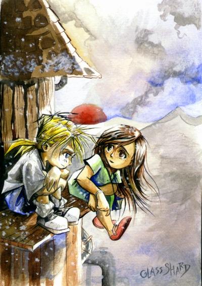 Tifa and Cloud